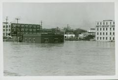 Photograph, Crescent Mill during Flooding, March 1948