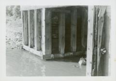 Photograph, Star Mill flume, September 6, 1945