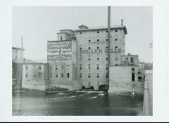 Photograph, Crescent Mill & Bridge, early 1900s
