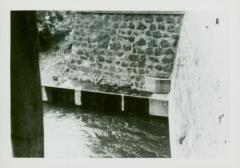 Photograph, Canal at Crescent Mill flume, September 18, 1947