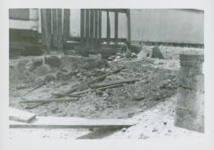 Photograph, Damage from flooding, mid 1940s