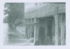Photograph, Star Mill flume, September 22, 1956