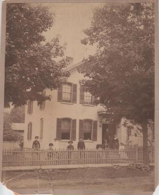 Photograph, House on Commerce Ave.