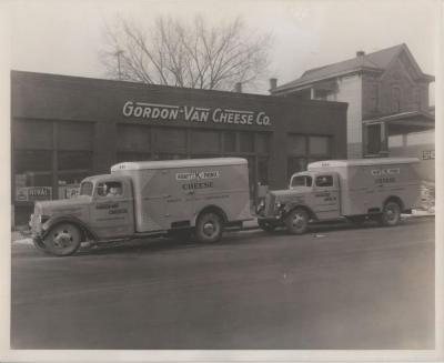 Photograph, White Motor Company Delivery Truck, Gordon-Van Cheese Company, Grand Rapids Michigan