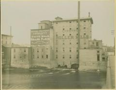 Photograph, Crescent Mill after addition of top two floors, 1880s