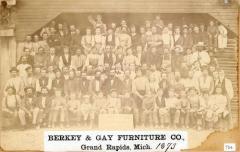 Photograph, Berkey and Gay Furniture Company Work Crew
