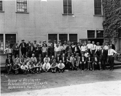 Photograph, Widdicomb Furniture Company, Work Crew