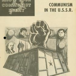 Booklet, Know Your Communist Enemy