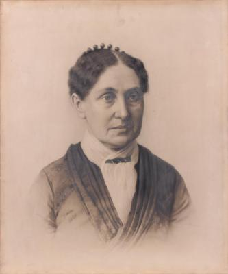 Drawing, Mrs. Wealthy M. Woolley Morrison