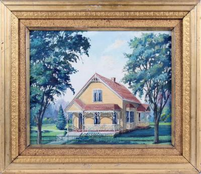 Painting, House in a Landscape