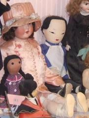 Jointed Composition Doll, 'beauty' In Pink Outfit