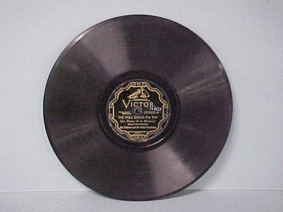 Phonograph Record, 1. 'the Doll Dance Fox Trot'; 2. 'flapperette'