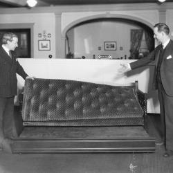 Photograph, Furniture Showroom, Kindel Convertible Davenport Bed