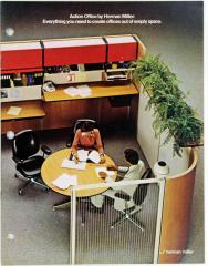 Brochure, Herman Miller, Action Office, Everything You Need To Create Offices Out Of Empty Spaces