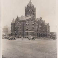 Photograph, Old Grand Rapids Courthouse Grand Rapids Michigan