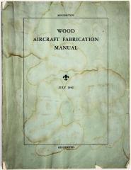 Book, Wood Aircraft Fabrication Manual