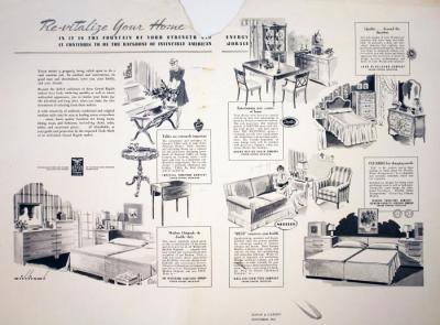 Advertisement, House & Garden Magazine, Grand Rapids Furniture Companies