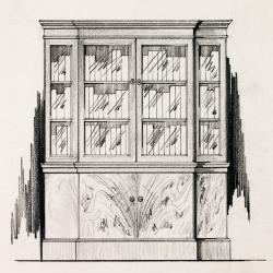 Drawing, Murray Furniture Co., Mahogany Book Case