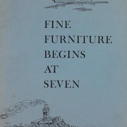 Booklet, Carl Forslund, Inc., Fine Furniture Begins At Seven