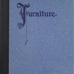 Book, Furniture, As Interpreted by the Century Furniture Company