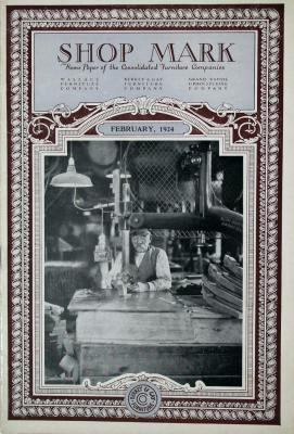 Periodical, Shop Mark, Volume 8, No. 2
