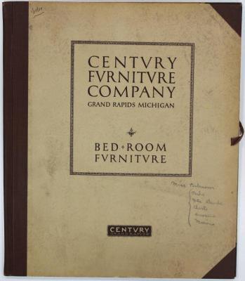 Portfolio Cover, Century Furniture Company, Bed Room Furniture