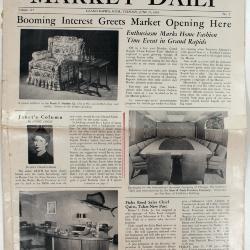 Periodical, Grand Rapids Market Daily, Volume 117 No. 2