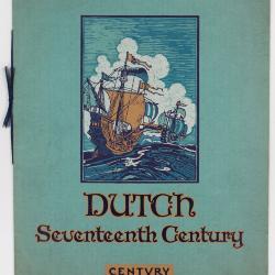 Trade Catalog, Century Furniture Company, Dutch Seventeenth Century