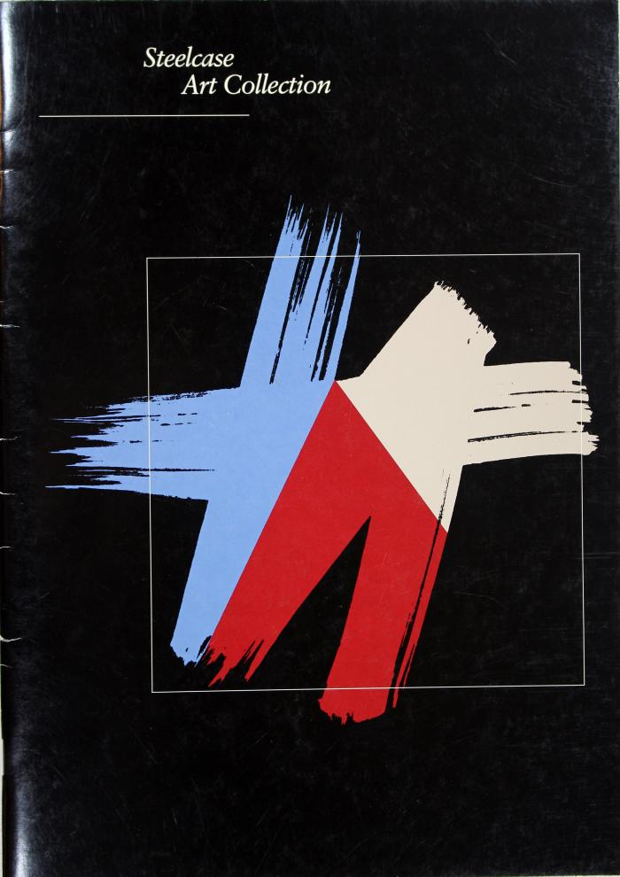 Booklet, Steelcase Art Collection