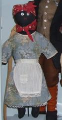 Black 'mammy' Rag Doll