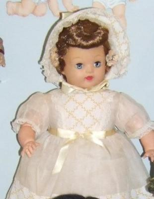 Doll, Baby In Bonnet