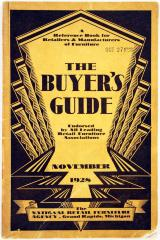 Directory, The Buyer's Guide, A Reference Book for Retailers & Manufacturers of Furniture