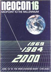 Brochure, Neocon 16, Midpoint to the Millennium