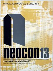 Booklet, Neocon 13, Official 1981 Program and Directory