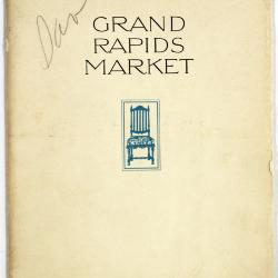 Booklet, The Grand Rapids Market, The Furniture Capital of America