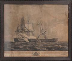 Print, The United States Frigate Constitution