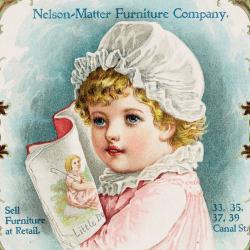 Trade Card, Nelson-Matter Furniture Company