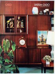 Brochure, Cado Furniture Inc., Wall Systems