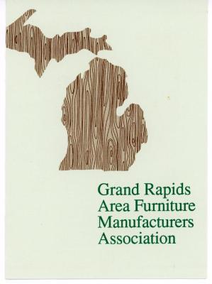 Brochure, Grand Rapids Area Furniture Manufacturers Association