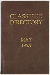 Directory, Classified Directory of Exhibits, Grand Rapids, Michigan