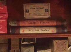 Pharmaceutical, 'Isinglass Plaster, Green Silk'