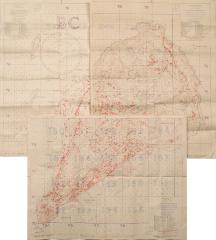Map, Iwo Jima