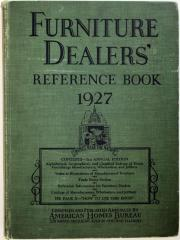 Book, Furniture Dealers' Reference Book, 3rd Edition