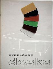 Trade Catalog, Steelcase, Inc., Desks