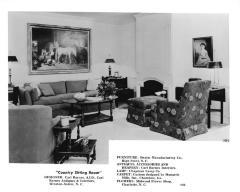 Photograph, Swaim Manufacturing Co., Furniture Showroom
