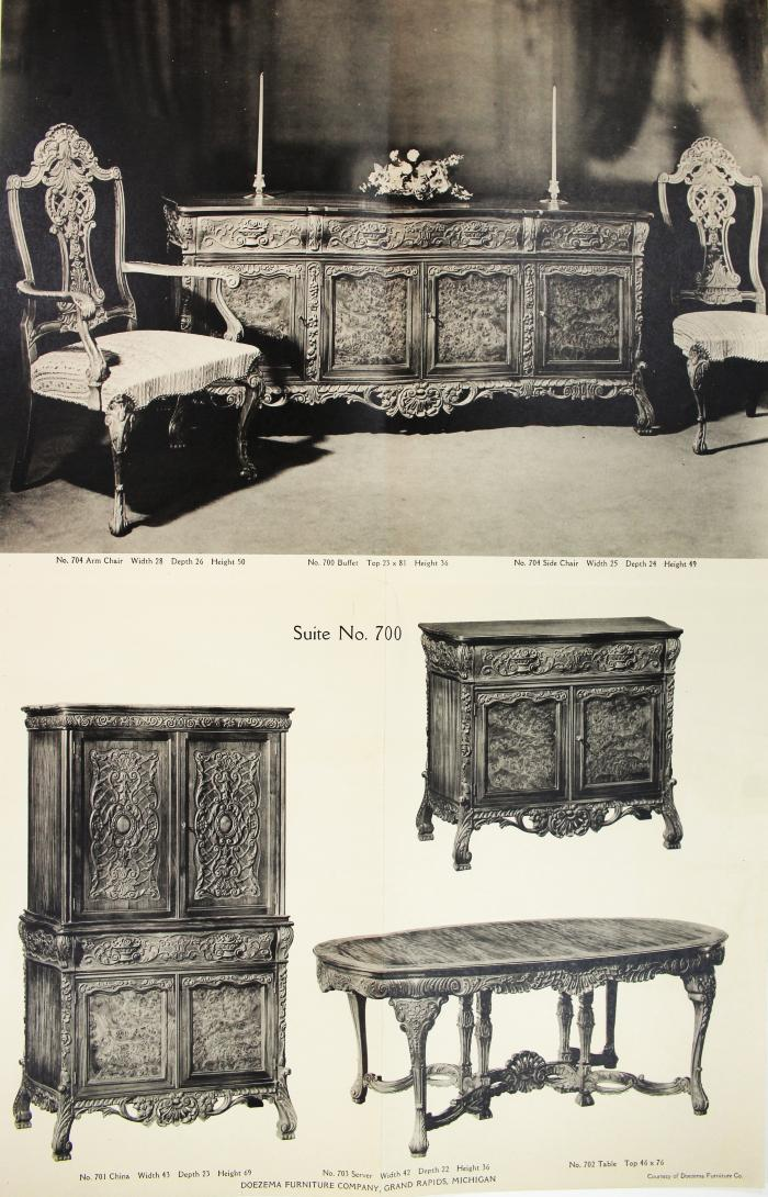 Doezema Furniture Company, Grand Rapids Furniture