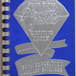Booklet, Furniture Buyer's Order Book and Classified Directory of Furniture Exhibits, Diamond Jubilee