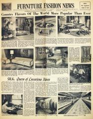 Newspaper, Furniture Fashion News, Southern Furniture Exposition Building