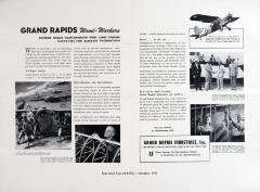 Advertisement Reprint, Grand Rapids Industries Inc., 15 Plants United in Production for the Aircraft Industry
