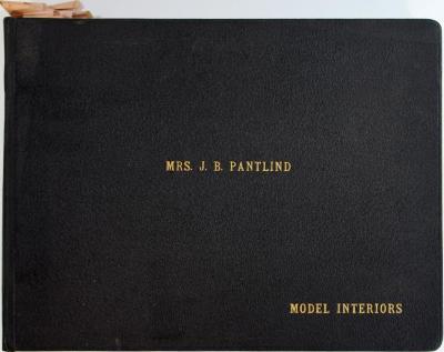 Album, Mrs. J. B. Pantlind Model Interiors